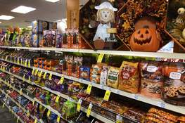 Halloween Candy Associated Press U.S. sales of Halloween candy were up 13% over last year in the month ending Sept. 6, according to data from market research firm IRI and the National Confectioners Association, despite uncertainty over trick or treating. (Robert F. BukatySTF)