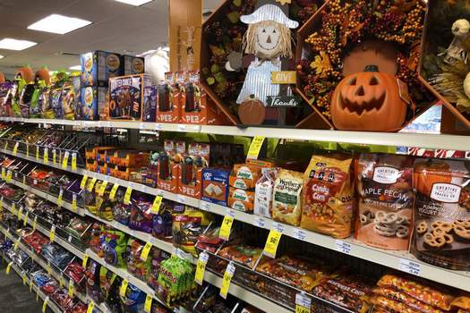 Halloween Candy Associated Press