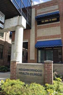 Michelle Davies | The Journal Gazette Patrons of the Neighborhood Health Clinics, 1717 S. Calhoun St., could feel some of the hardest hits of the changes to 340B support.