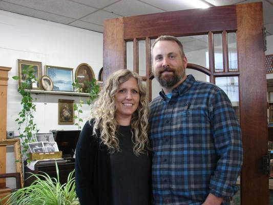 Terri Richardson The Journal Gazette  Lindsey and Chuck Springer own Reclaimed Fort Wayne, an architectural salvage business that was originally founded as the Wood Shack.