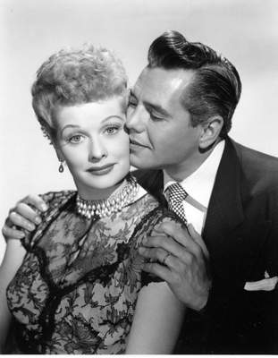 """File Lucille Ball and Desi Arnaz starred in """"I Love Lucy."""""""