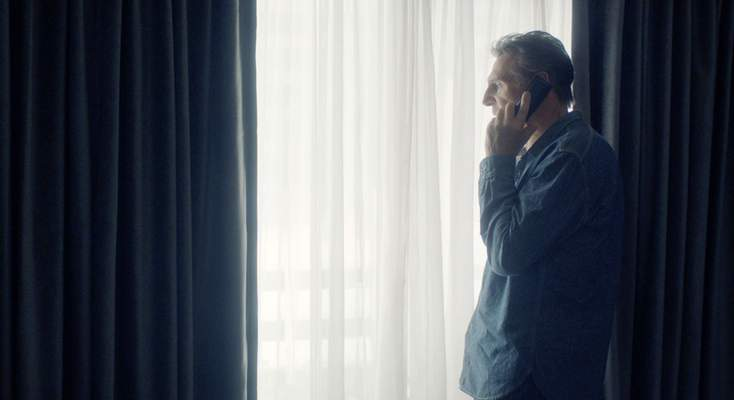 This image released by Open Road Films shows Liam Neeson in a scene from Honest Thief. (Open Road Films via AP)
