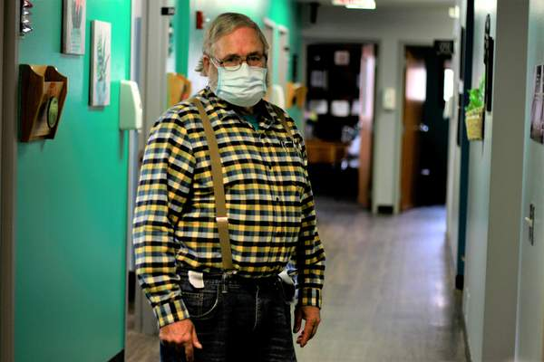 Associated Press Dr. Tom Dean is one of three doctors in South Dakota's Jerauld County, which has one of the nation's highest rates of coronavirus cases per person.