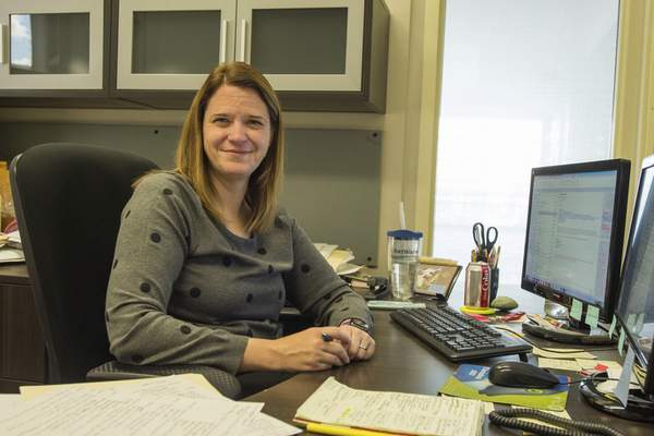 Michelle Davies | The Journal Gazette As the administrator of the Fort Wayne City Council, Megan Flohr fulfills a variety of roles.