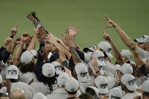 APTOPIX ALCS Astros Rays Baseball Associated Press