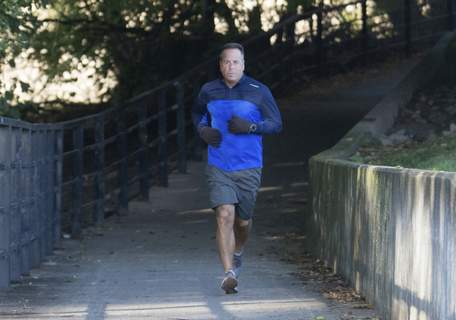 Michelle Davies   The Journal Gazette Anthony Juliano, chairman of the Fort Wayne Trails board, is running all of the trails in the area this year.