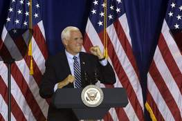 Election 2020 Pence Associated Press 