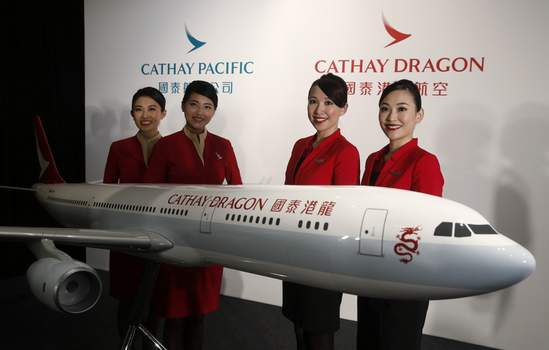 Hong Kong Cathay Pacific Associated Press Hong Kong airline Cathay Pacific Airways on Wednesday said it would cut 8,500 jobs and shut down its regional airline unit.  (Kin CheungSTF)