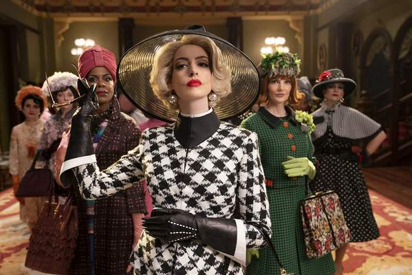 """Warner Bros. Entertainment  Anne Hathaway, center, stars in """"The Witches."""""""