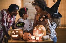 1007049630 Getty Images If you are planning to celebrate Halloween with traditional trick-or-treating or handing out candy, make sure you take precautions to ensure safety during the holiday. (skynesherContributor)