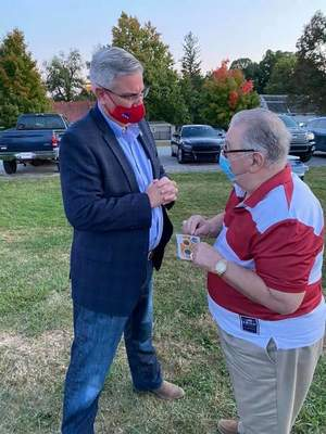 Holcomb for Indiana Incumbent Republican Gov. Eric Hoclomb
