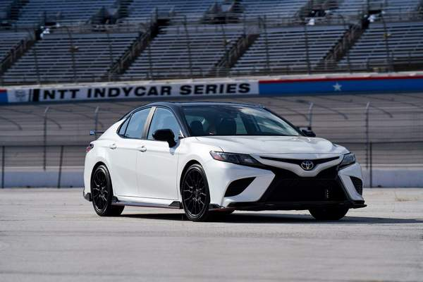 Courtesy Toyota: Toyota's engineers turned Grandma's Toyota Camry sedan into a very engaging driver's car with the 2020 TRD model, reviewer Casey Williams says.