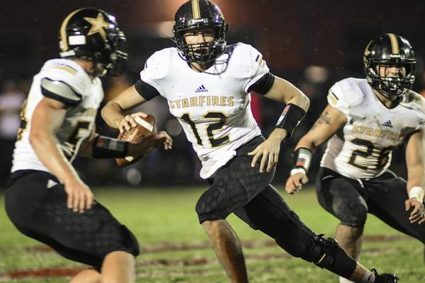 Mike Moore  South Adams quarterback James Arnold was named to the all-Northeast Indiana Football first-team.