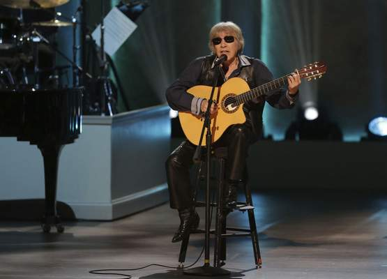 """Associated Press Musician Jose Feliciano is celebrating 50 years of his bilingual Christmas classic """"Feliz Navidad"""" by releasing a new version today."""
