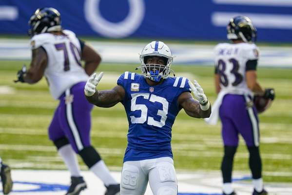 Associated Press The Indianapolis Colts' defense and outside linebacker Darius Leonard face another stiff test this week as they play host to the Green Bay Packers and quarterback Aaron Rodgers.