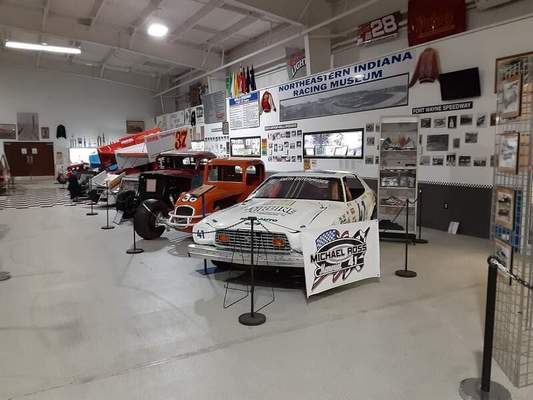 Courtesy photos The Northeast Indiana Racing Museum, which once had a home in Auburn, is no more.
