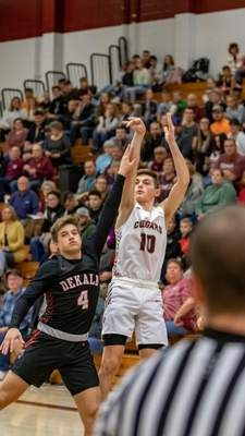 Courtesy As a sophomore, Central Noble junior Connor Essegian became the first-ever prep from Noble County to score over 600 points in a single season.