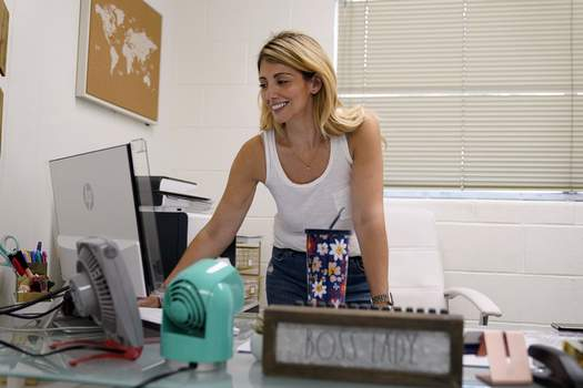 Virus Outbreak Small Business Owners Associated Press When Laurina Esposito, co-owner of Espo Restoration, which specializes in restoring Porsches, was very ill with COVID-19 for three weeks, she did as much work as she could on her laptop in bed.  (Marcio Jose SanchezSTF)