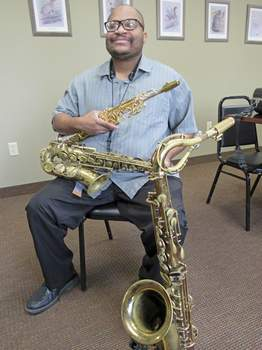 Rod King | For The Journal Gazette Saxophonist Quincy Sanders is like many other Fort Wayne musicians – ready for the pandemic to be over.