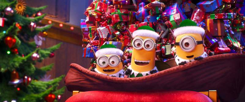 """NUP_192243_0007.jpg NBC """"Illumination Presents Minions Holiday Special"""" airs tonight on NBC with four new mini-movies. (Illumination and Universal Pictures)"""