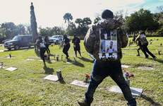 Slain Teen Funeral-Shooting Associated Press