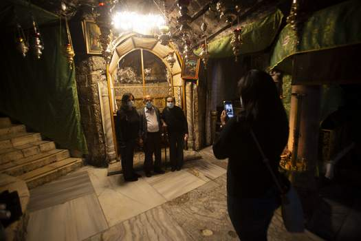Virus Outbreak Bethlehem Christmas Associated Press