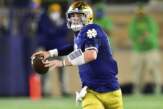 Clemson Notre Dame Football Associated Press photos Notre Dame quarterback Ian Book has been a part of a long period of sustained success at home. The second-ranked Irish will go for their 24th straight victory at Notre Dame Stadium on Saturday against Syracuse. (Matt CashorePOOL)