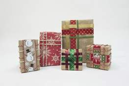 Photo illustrations by Michelle Davies | The Journal Gazette Weaving offers the beauty of a gift wrapped with ribbon without the worry of a bow getting crushed in transit.
