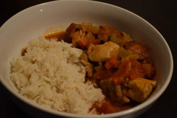 Photos by Corey McMaken | The Journal Gazette For better leftovers, makejambalayawith rice on the side instead ofcooking itin the same pot.