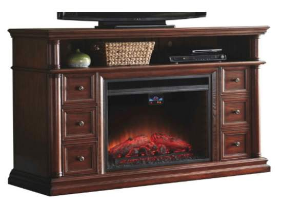 Recalled allen + roth 62-inch electric fireplace.