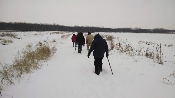 File photos Area state parks will offer a First Day Hike on Friday to ring in the new year.