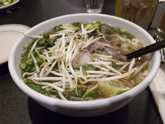 Ryan DuVall | The Journal Gazette Pho dac biet from Pho Indy on Coldwater Road.