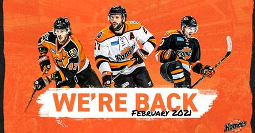 Courtesy Fort Wayne Komets This will be the Komets 69th season and the ninth in the ECHL starting the weekend of February 12th.