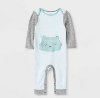 Recalled Cloud Island Waterfront Baby Boutique Romper.