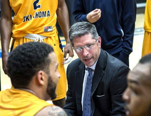 UCO Photo Services The Mad Ants will introduce Tom Hankins as their new coach today.