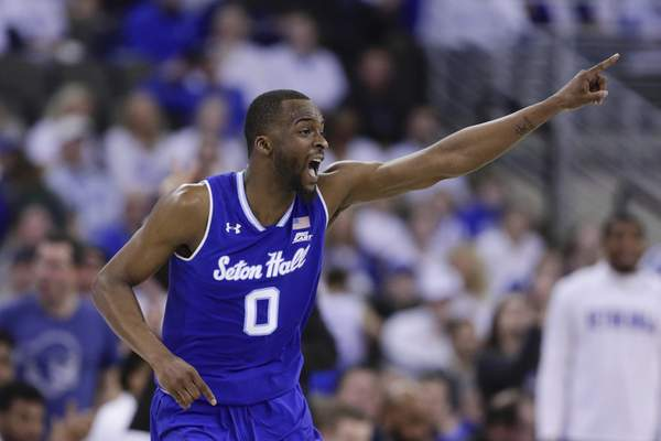 Associated Press  Quincy McKnight, who played for Seton Hall last season, will play for the Mad Ants in an Orlando, Florida, bubble this season.