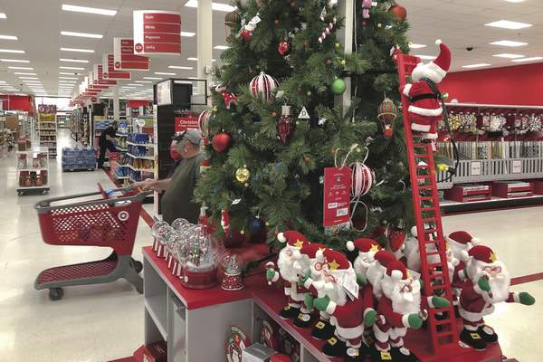 Associated Press The pandemic didn't hurt Target this holiday season, as the retailer saw a 4.2% rise in sales. After the success, Target will again roll out sales earlier in 2021 instead of being open Thanksgiving Day.