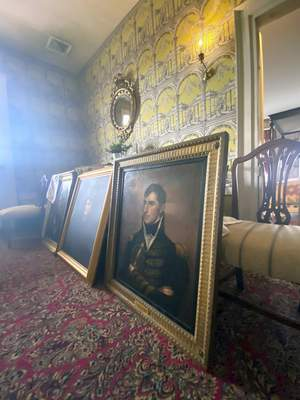Associated Press  The Grouseland mansion in Vincennes, once the home of William Henry Harrison, the ninth U.S. president, is undergoing a $1.2 million restoration.