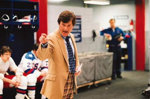 """Courtesy photos Kurt Russell's portrayal of hockey coach Herb Brooks in """"Miracle"""" is memorable."""
