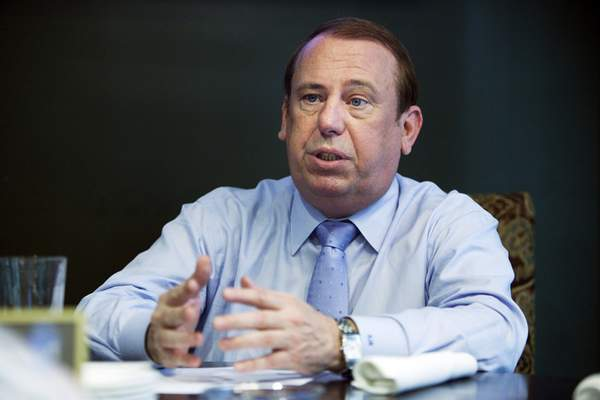 Associated Press Centaur Gaming CEO Rod Ratcliff, pictured in 2013, has been ordered by the Indiana Gaming Commission to give up his ownership stake in a Lake Michigan casino and a new casino being built in Gary.