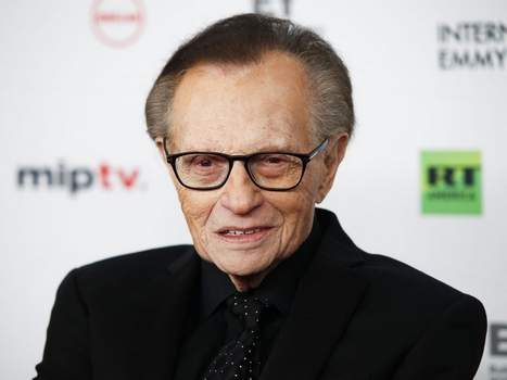 In this Nov. 20, 2017, file photo, Larry King attends the 45th International Emmy Awards at the New York Hilton, in New York. (Photo by Andy Kropa/Invision/AP, File)