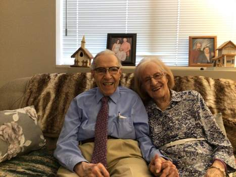 Courtesy Bob and Jody Schowe each celebrated their 100th birthday in September, then their 20th anniversary in October.