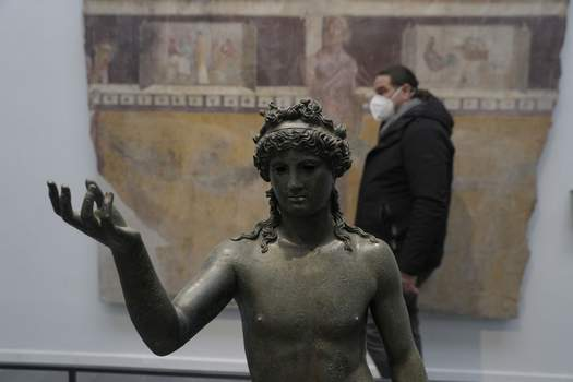 Italy Pompeii Museum Reborn Associated Press