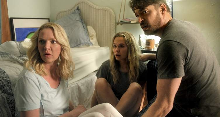 """Lionsgate Katherine Heigl, Madison Iseman and Harry Connick Jr. star in """"Fear of Rain."""""""