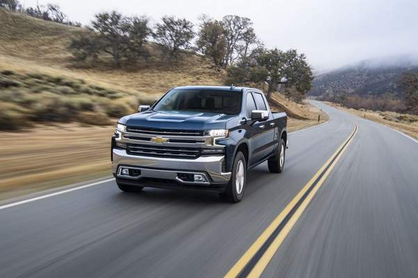Courtesy Chevrolet: Reviewer Casey Williams said he found the cabin of the 2021 Chevrolet Silverado 1500 diesel to be comfortable and functional.