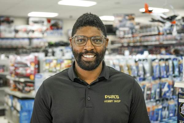 Paris McFarthing, owner of Phil's Hobby Shop, says he's seen the love of hobbies passed down to younger generations.