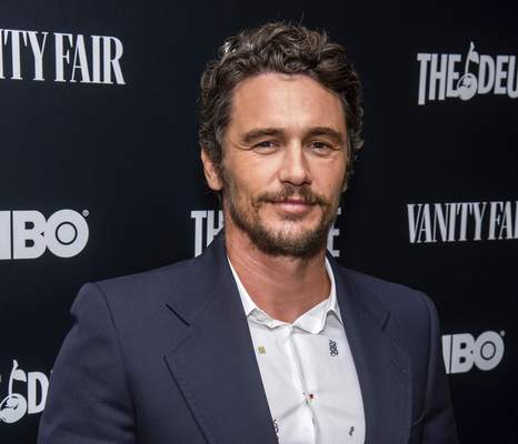 FILE - This Sept. 5, 2019 file photo shows James Franco at the premiere of HBO's The Deuce third and final season in New York. (Charles Sykes/Invision/AP, File)