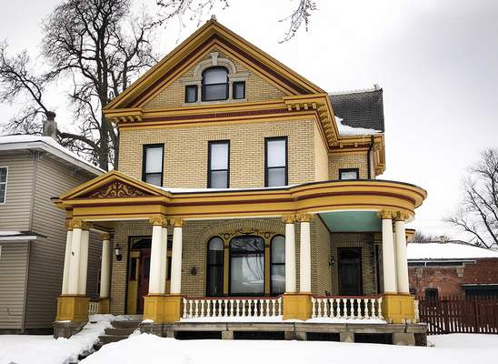 Katie Fyfe | The Journal Gazette The Becker House on Williams Street has been nominated for placement on the National Register of Historic Homes.