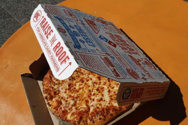 Associated Press Domino's Pizza saw same-store sales grow 11.5% last year. Analysts forecast just a 1% growth in sales this year.