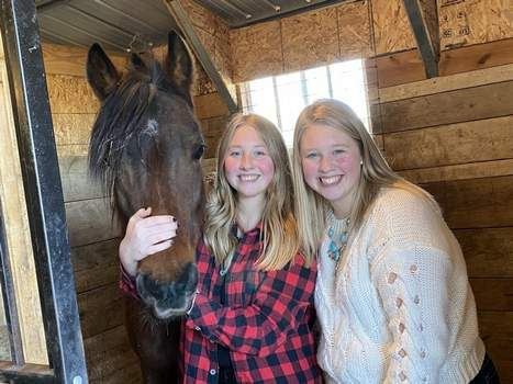 Courtesy Mikayla Voris, left, of Columbia City and Reagan Birr of Nappanee are 20-year-old identical twins who recently met for the first time.